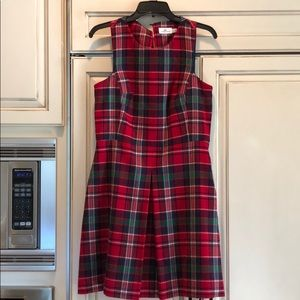Vineyard vines plaid dress size 10 worn once